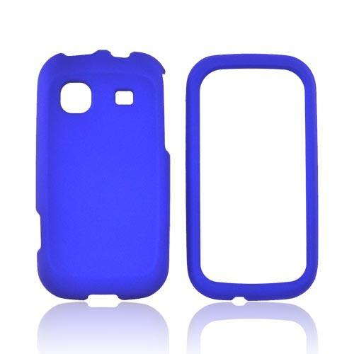 Samsung Trender M380 Rubberized Hard Case - Blue