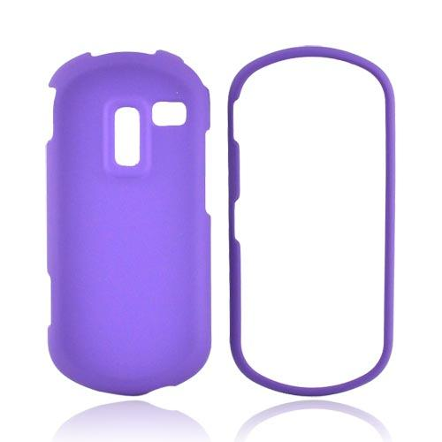 Samsung Restore M570 Rubberized Hard Case - Purple