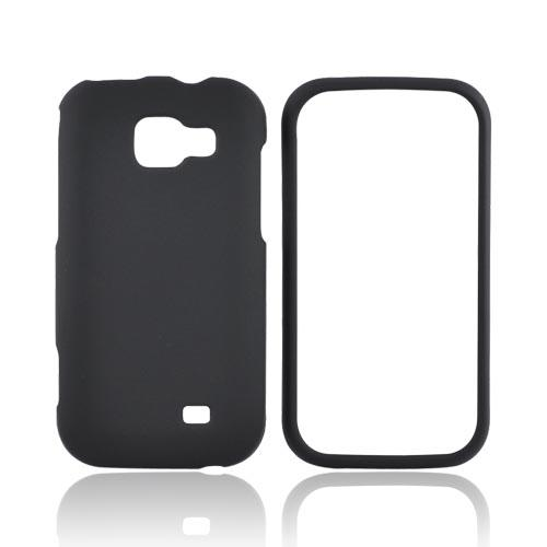 Samsung Transform M920 Rubberized Hard Case - Black