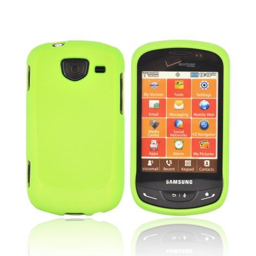 Samsung Brightside Rubberized Hard Case - Lime Green