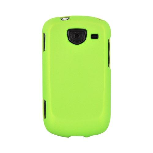 Samsung Brightside Rubberized Hard Case - Neon Green