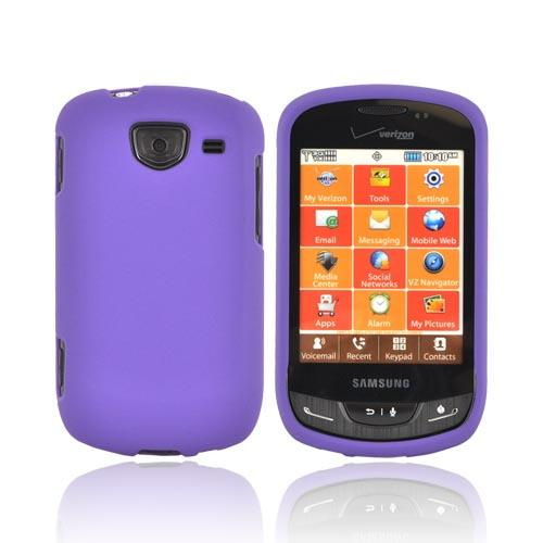 Samsung Brightside Rubberized Hard Case - Purple