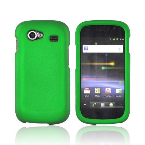 Google Nexus S Rubberized Hard Case - Green