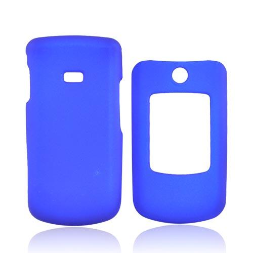 Samsung Contour R250 Rubberized Hard Case - Blue
