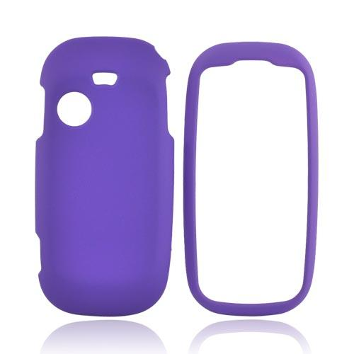 Samsung T369 Rubberized Hard Case - Purple