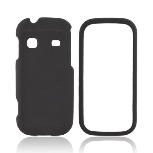 Samsung Gravity TXT T379 Rubberized Hard Case - Black