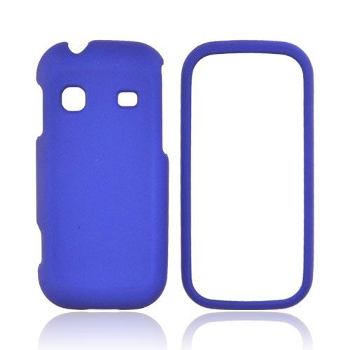 Samsung Gravity TXT T379 Rubberized Hard Case - Blue