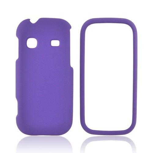 Samsung Gravity TXT T379 Rubberized Hard Case - Purple
