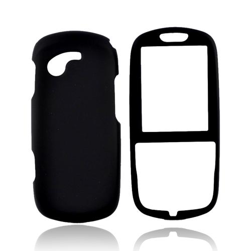 Samsung Gravity 3 T479 Rubberized Hard Case - Black