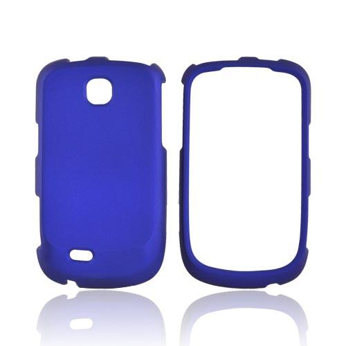 Samsung Dart T499 Rubberized Hard Case - Blue