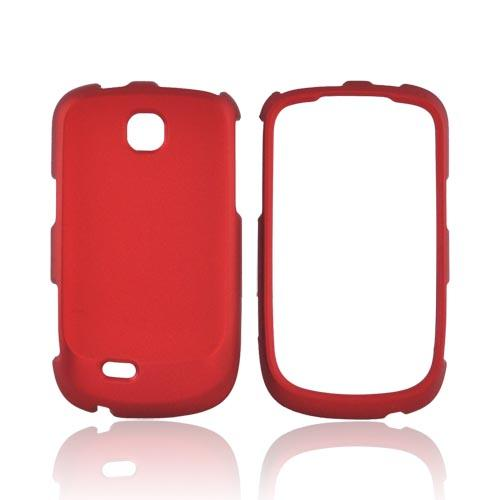 Samsung Dart T499 Rubberized Hard Case - Red