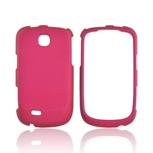 Samsung Dart T499 Rubberized Hard Case - Rose Pink