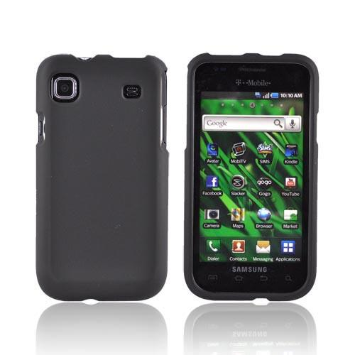 Luxmo Samsung Vibrant T959 Rubberized Hard Case - Black
