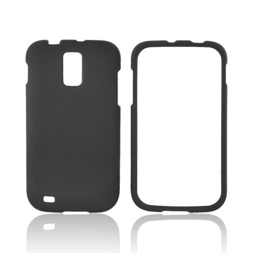T-Mobile Samsung Galaxy S2 Rubberized Hard Case - Black