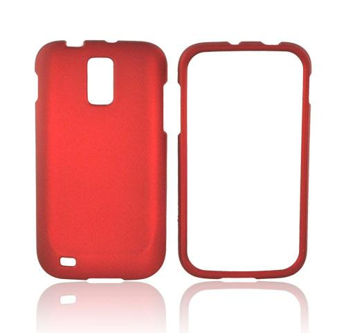 T-Mobile Samsung Galaxy S2 Rubberized Hard Case - Red