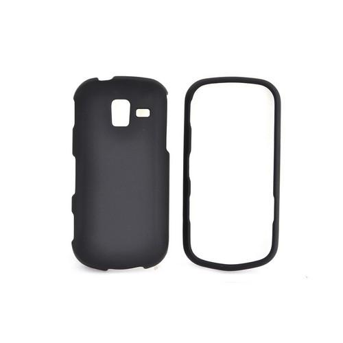 Samsung Intensity III Rubberized Hard Case - Black