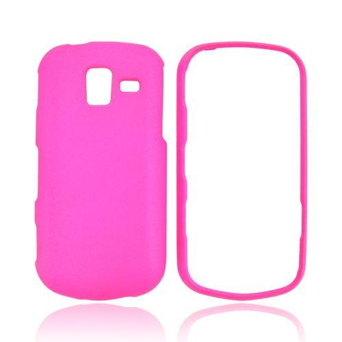 Samsung Intensity III Rubberized Hard Case - Hot Pink