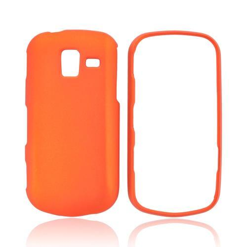 Samsung Intensity III Rubberized Hard Case - Orange