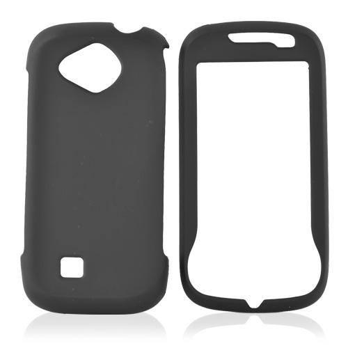 Samsung Reality U820 Rubberized Hard Case - Black