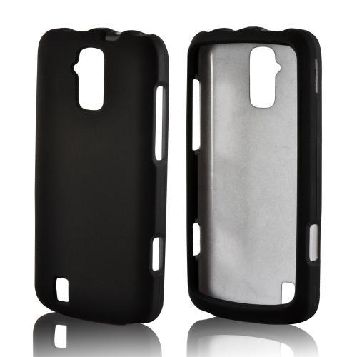 Black Rubberized Hard Case for ZTE Force 4G LTE