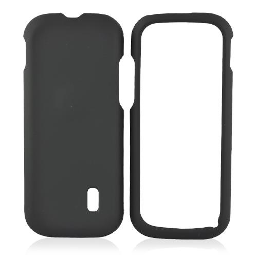 MetroPCS ZTE C76 Rubberized Hard Case - Black