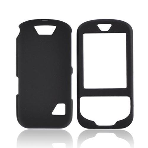 ZTE Salute F350 Rubberized Hard Case - Black