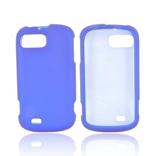 ZTE Fury N850 Rubberized Hard Case - Blue