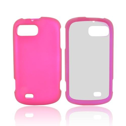 ZTE Fury N850 Rubberized Hard Case - Rose Pink