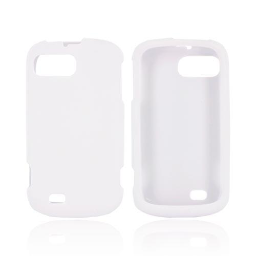 ZTE Fury N850 Rubberized Hard Case - White