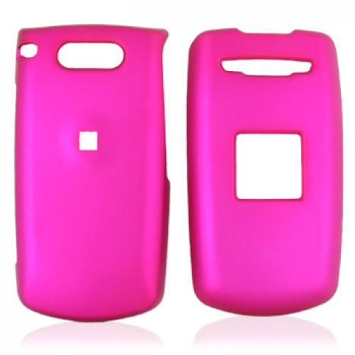 Verizon Escapade WP8990 Rubberized Hard Case - Rose Pink