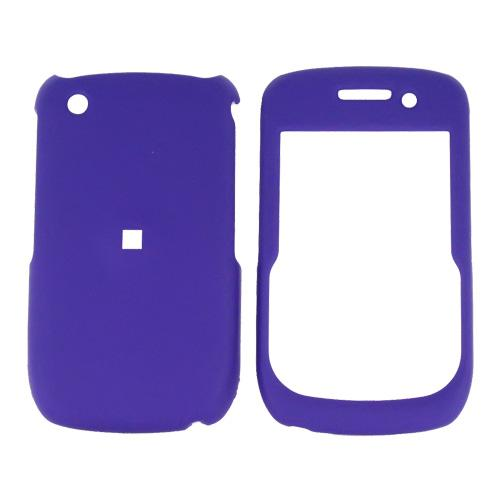 Blackberry Curve 3G 9330, 9300, 8520, 8530 Rubberized Hard Case - Purple
