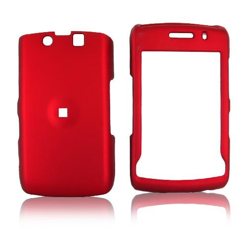 Blackberry Storm 2 9550 Rubberized Hard Case - Red