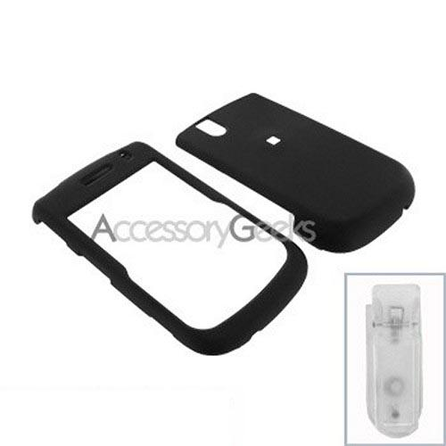 Blackberry Bold 9650 & Tour 9630 Rubberized Hard Case - Black