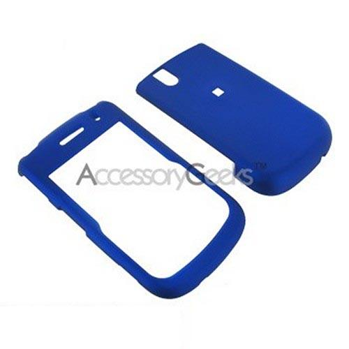 Blackberry Bold 9650 & Tour 9630 Rubberized Hard Case - Blue