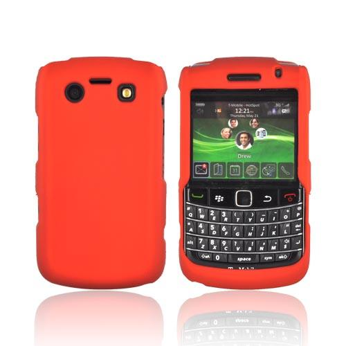 Blackberry Bold 9780 9700 Rubberized Hard Case - Orange