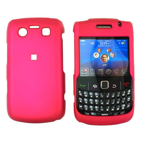 Blackberry Bold 9780 9700 Rubberized Hard Case - Rose Pink