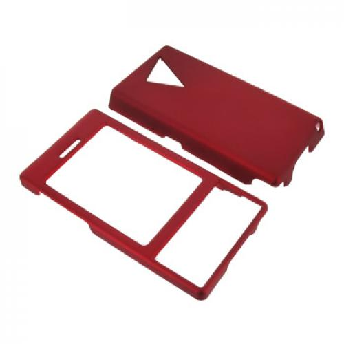 HTC Touch Diamond VX6950 Rubberized Hard Case - Red
