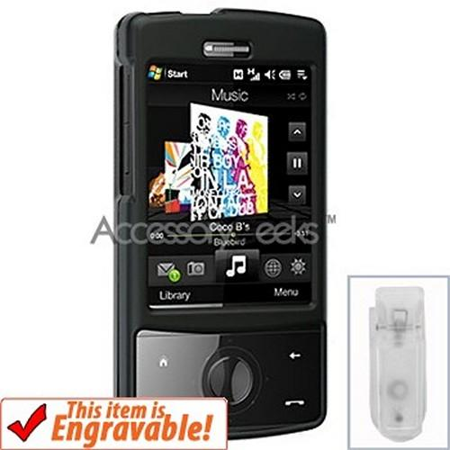 HTC Touch Diamond Rubberized Hard Case - Black