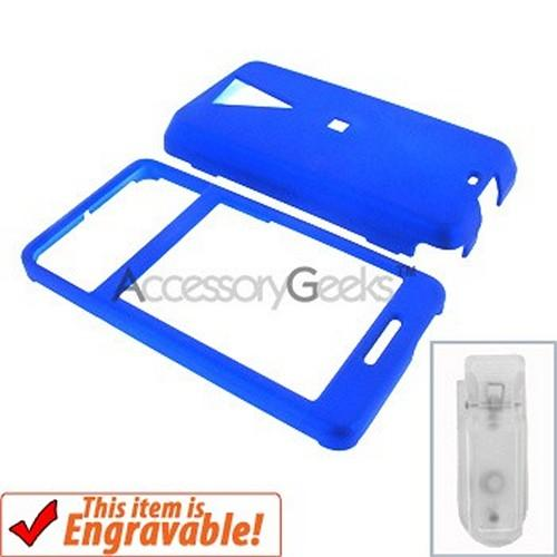 HTC Fuze Rubberized Hard Case - Blue