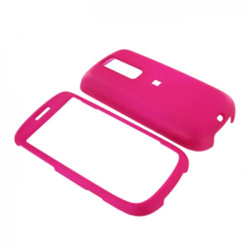 T-Mobile MyTouch 3G Rubberized Hard Case - Hot Pink