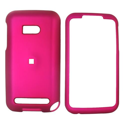 Verizon HTC Imagio Rubberized Hard Case - Rose Pink
