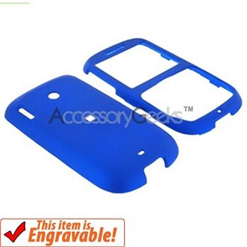 HTC Snap S511 Rubberized Hard Case - Blue