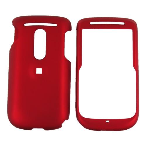 TMobile Dash 3G Rubberized Hard Case - Red