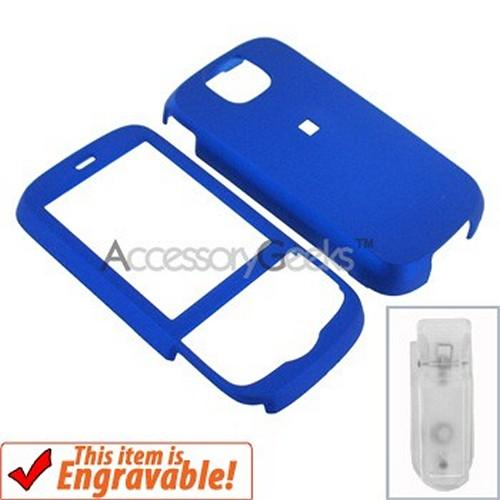HTC Shadow 2 Rubberized Hard Case - Blue