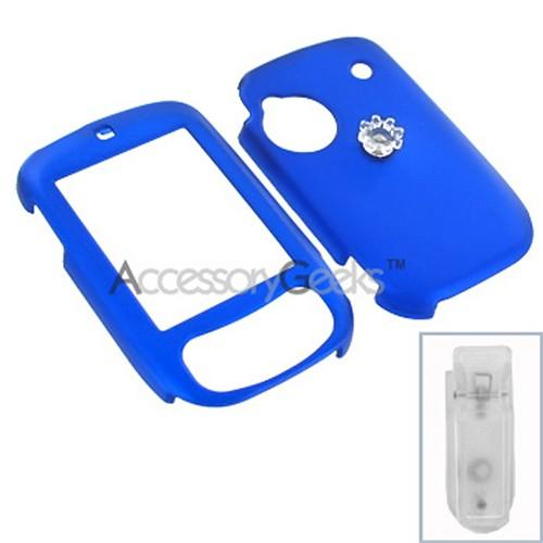 HTC Touch Rubberized Hard Case (Sprint only) - Blue