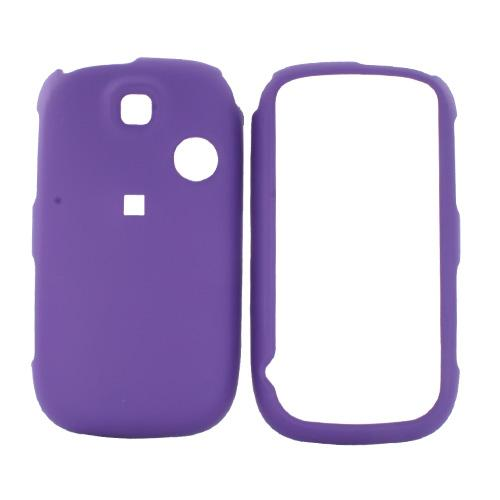 TMobile Tap Rubberized Hard Case - Purple