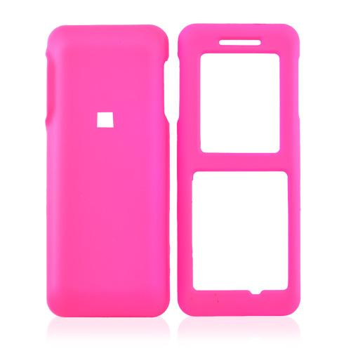 Kyocera Domino S1310 Rubberized Hard Case - Hot Pink