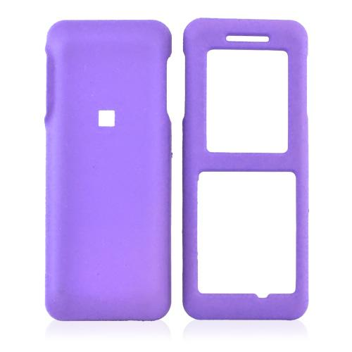 Kyocera Domino S1310 Rubberized Hard Case - Purple