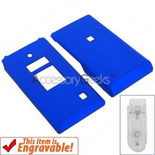 Kyocera Mako Rubberized Hard Case - Blue