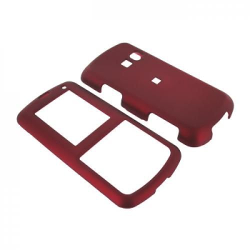 LG Banter AX265 Rubberized Hard Case - Red